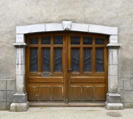 old gate - Laruns, Pyrénées-Atlantiques - France