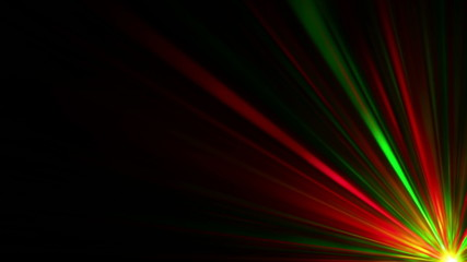 burst, abstract laser lights from the darkness