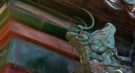 Dragon Roof Figure