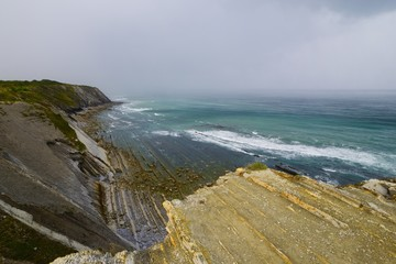 Corniche d'Urrugne - Basque Country -France