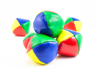 Isolated Stack Juggling Balls