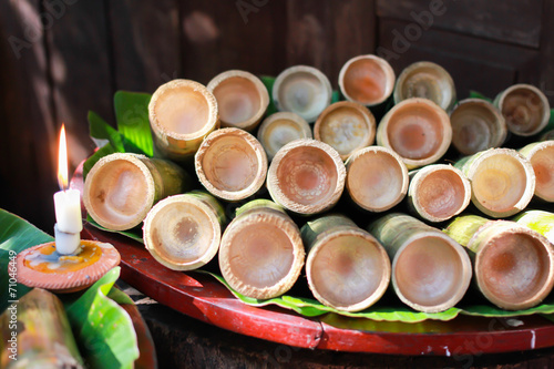 In de dag Bamboo Bamboo Glass