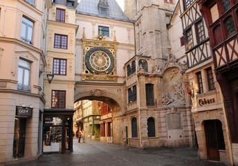 Normandie, the picturesque city of Rouen