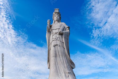 statue of the sea god, matsu - 71047029