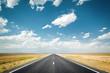Leinwandbild Motiv desert highway