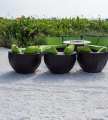 relaxation at St Petersburg Beach, Fl beach