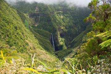 Wasserfall in Reunion - Trou de Fer