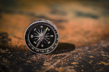 compass hiking search direction path opportunity