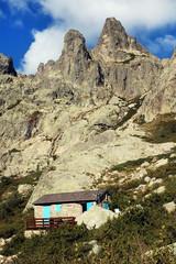 Restonica Valley. Corsica, France