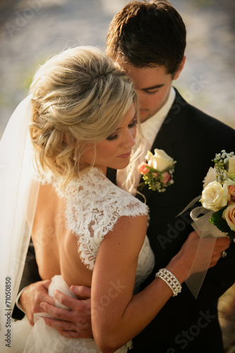 canvas print picture Married Couple
