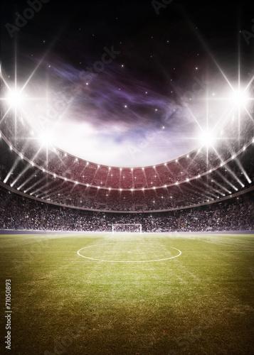 Leinwandbild Motiv stadium