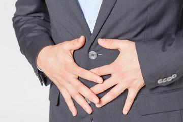 Bauchschmerzen close-up