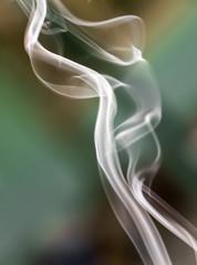 Beautiful colored smoke