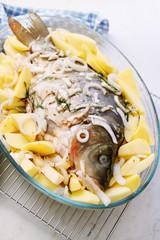 Pickled carp
