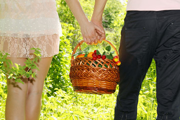 bear fruit basket