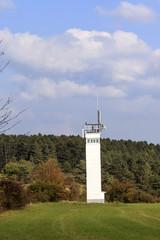 Wachturm des DDR Grenzverlaufes