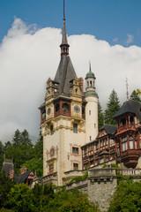 Peles castle clock tower