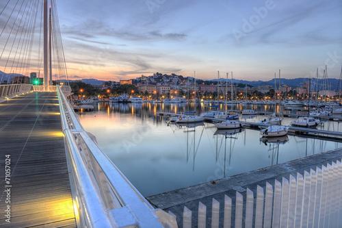 Keuken foto achterwand Poort La Spezia port, Cinque Terre, Italy