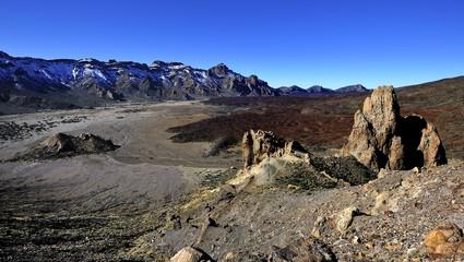 Lara Flows of Mount Teide