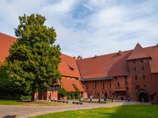 Malbork courtyard