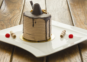 Çikolatalı Dilim Kek