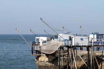 carrelet, cabane de pêche, estuaire gironde