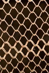 background of metal fence