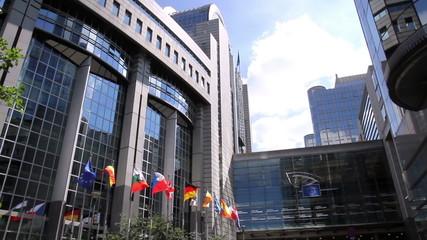 European parliament (Brussels, Belgium).
