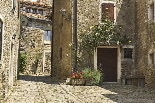 Rue du village de Groznjan