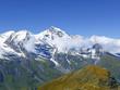 Mountain Grosses Wiesbachhorn, Hohe Tauern, Austria
