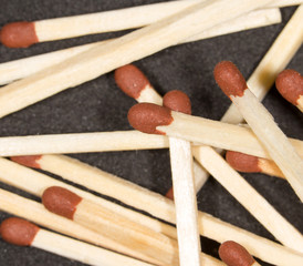 matches. close-up
