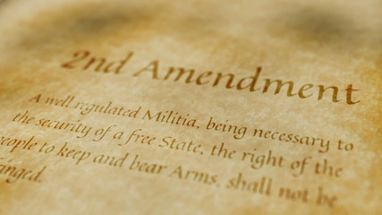 Historic Document 2nd Amendment
