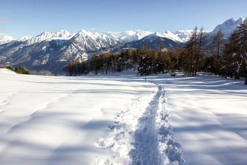Percorso su neve