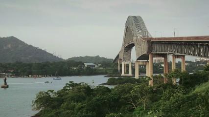 15of19 Panama City, bridge Las Americas, ocean