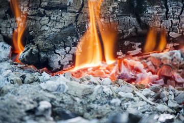 Wood burning phase