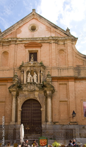 canvas print picture Kirche in Cordoba - Andalusien - Spanien