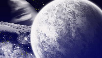 Sci-fi background