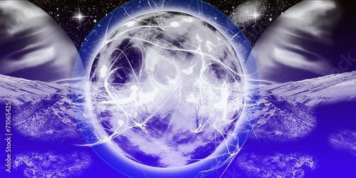Fantazyjna przestrzeń kosmiczna