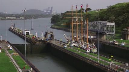 19of19 Panama city, canal, sailboat, vessel, sea