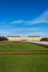 Vienna - OCTOBER 14: Schonbrunn Palace on October 14 in Vienna,