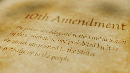 Historic Document 10th Amendment