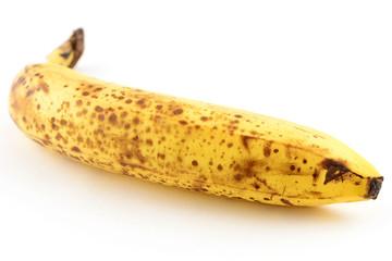 Organic ripe banana