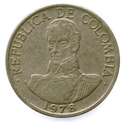 Peso colombiano Colombian Colombien Колумбийское песо