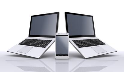 ノートパソコン,スマートフォン