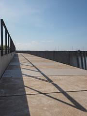Fenced Walkway