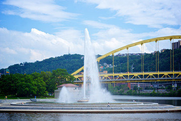 Pittsburgh Point State Park Fountain