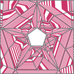 Pentagon Pattern Vector