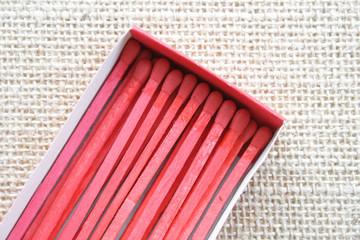 Red matchbox