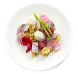 salad of herring and potatoes