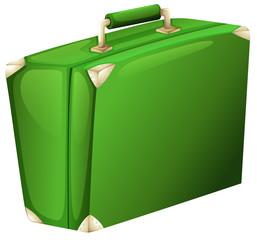 A green case